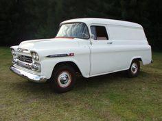 1959 Chevrolet 3100 Panel, 327 4bbl V8/TH350
