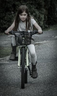 child girl bicycle  resolute