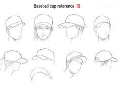 baseball cap reference