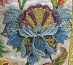 Meeting in Gorizia. Ursuline convent in Gorizia, Baroque embroideries