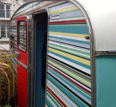 1970s Ace Rallyman Vintage Caravan