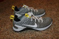 891f452cd56 Mens Nike Metcon 4 X Shoes White Black Yellow Size 10  130 NIB AO2806 107