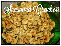 Seasoned Crackers |