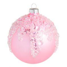 Boule sucrée rose