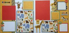 This page kit comes with everything pre-cut and ready to glue. All you have to…