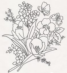 Bouquet w Bflys by jeninemd, via Flickr