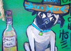 I love painting people's dogs.    --  RhondaK Native Florida Folk Artist