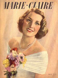 VINTAGE MAGAZINES MARIE-CLAIRE 1938