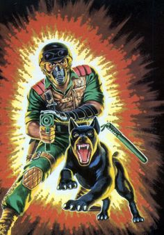 MEDUSAWOLF: The G.I. Joe Artwork of Hector Garrido
