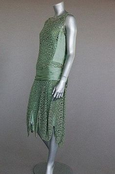 1927 (Summer) Dress   Jeanne Paquin   Auctioned June 2009 Kerry Taylor Auctions