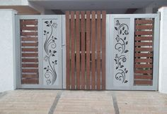 6 Border Cutting File For Laser, Cnc & Plasma, Cricut Floral Wall Stencil, Decorative Elegant Border Stencils Home Gate Design, Grill Gate Design, House Main Gates Design, Steel Gate Design, Front Gate Design, Window Grill Design, Railing Design, Door Design, Wall Design