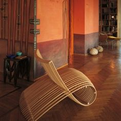 WOODEN CHAIR - Marc Newson | Cappellini (1988)