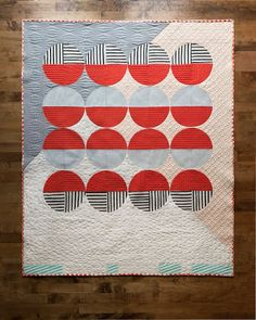 circles in quilt