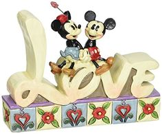 Disney Traditions by Jim Shore Love Inspirational Word Plaque 4-3/4-Inch *** You can get more details by clicking on the image.