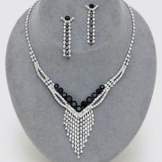 Miley Rhinestone Necklace Sets