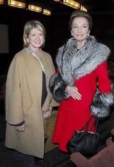 With Martha Stewart