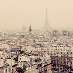 Paris through rose colored glasses