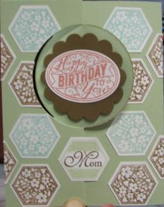 Circle Card Thinlit - Birthday Card