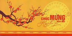 in băng rôn chúc mừng năm mới tại Nam Á