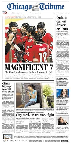 May 30, 2013: How about those Blackhawks? Lucky 7 for them and now it's on to face the Kings in the Western Finals. And the city is late when it comes to truancy problems.