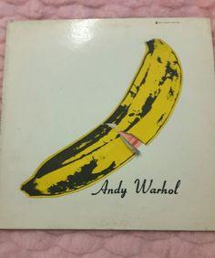 THE VELVET UNDERGROUND & NICO ANDY WARHOL LP ORIGINAL 1967 VINYL V6-5008 STEREO #PsychedelicRock