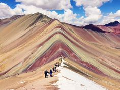 VSCO - #vinicunca #rainbowmountain #cusco #peru #andes #colors #people #travel #southamerica #vscocam #vsco #vscogrid | zaydasalazar