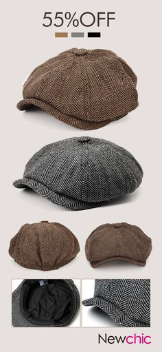 Men Visor Cotton Newsboy Beret Flat Cap Outdoor Casual Warm Comfortable Cabbie Hat is hot sale on Newchic. Athleisure Trend, Big Men Fashion, Fancy Hats, Men Style Tips, Style Men, Flat Cap, Outfits With Hats, Hats For Men, Online Shopping