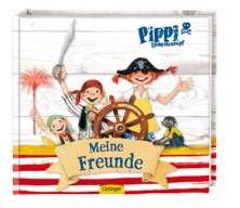 Pippi Langstrumpf: Freundebuch. Das Pippi Lamgstrumpf Freundebuch bietet tolle Seiten für etwas Seemannsgarn und ganz viele Wahrheiten.