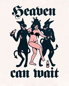 Tattoo — Heaven Can Wait. Graphic Design Illustration, Graphic Art, Illustration Art, Art It, Art Flash, Heaven Can Wait, Baphomet, Illustrations, Grafik Design