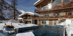 A sublime panorama and a relaxing moment @ Chalet Paltar in Val d'Isère...  Check out our splendid #luxury #chalet in Val d'Isère: http://clni.st/1uNBcKo  #luxurytravel #valdisere #beacollectionist #winter #holidays