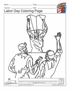 labor day coloring pages on labor day print out this great
