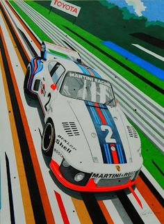 Martini Racing Porsche 935 - 76 by Miha Furlan (aka G1 Jazz)