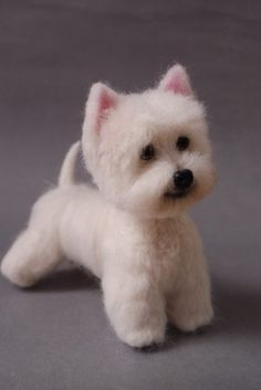 *WESTIE DOG ~ Needle Felted Art