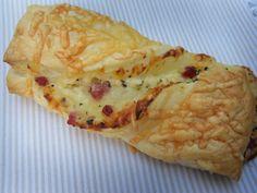 Mit Zucker, Salz & Bauchgefühl: Schinken-Schmand Stangen mit Käse