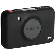 Polaroid Snap Camera Silicone Skin Case ($13) ❤ liked on Polyvore featuring black