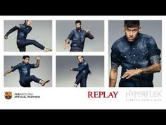 Five FC Barcelona players in new Replay commercial