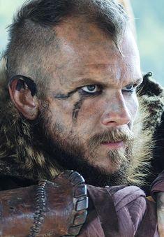 Floki, Vikings, great tv, beard, costume, make-up, powerful face, intense eyes, strong, expression, beauty, portrait, photo