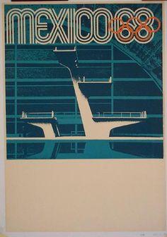 Olympics 1968 Mexico Identity Design from Lance Wyman
