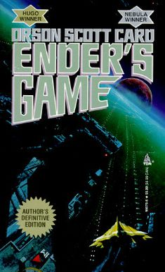 Ender's game by Orson Scott Card One of my all time favorite books. A movie is being made finally in 2013.