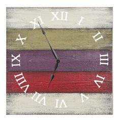"Roman White Orchard 27"" Oversized Wall Clock"