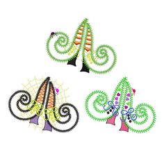 Witch Boots set of applique machine embroidery by VStitchDesigns, $9.00