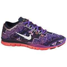 hot sale online 93fef cebdd Buy Nike Free TR Fit 4 Print Cross Trainers Online at johnlewis.com  Discount Nike