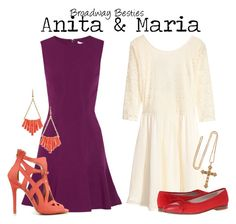 """""""Anita & Maria"""" by charlizard ❤ liked on Polyvore"""