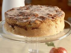 This cinnamon apple cake is one of our best-ever recipes and can be served as dessert or a breakfast coffee cake. The cream cheese in the batter gives the cake lots of moisture. Healthy Apple Desserts, Apple Cake Recipes, Best Dessert Recipes, Fun Desserts, Apple Cakes, Holiday Recipes, The Cream, Food Cakes, Granny Smith