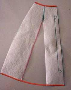 Converting a skirt dart to a hemline flare