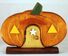 Pumpkin Fairy Door  Price $34.95