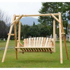 Wooden Swing Chair, Wooden Swings, Swinging Chair, Chair Swing, Patio Swing, Patio Bench, Swing Seat, Garden Furniture, Outdoor Furniture