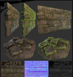 ローポリなのに凄い立体感!ゲーム『Crasher』の背景メイキング