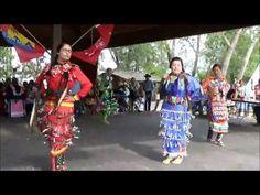 Indian Village Pow Wow Jingle Dress Dance 1 - Calgary Stampede