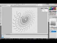 How to do SPIROGRAPHS in Adobe Photoshop CS5 by Andrea Lawrence Saskatch...